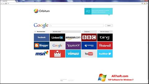 Skærmbillede Orbitum Windows 7