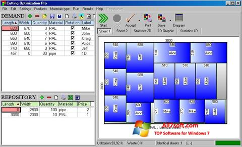 Skærmbillede Cutting Windows 7