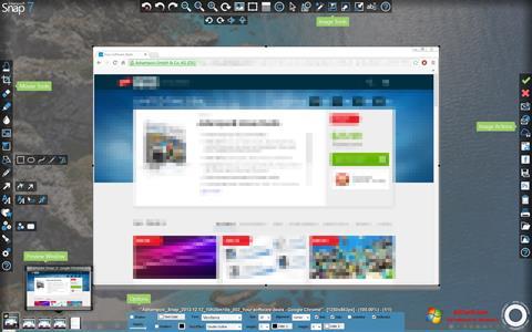Skærmbillede Ashampoo Snap Windows 7