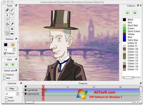 Skærmbillede Pencil Windows 7
