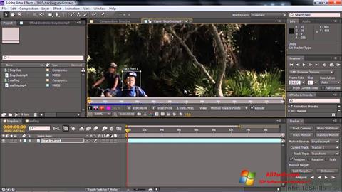 Skærmbillede Adobe After Effects CC Windows 7