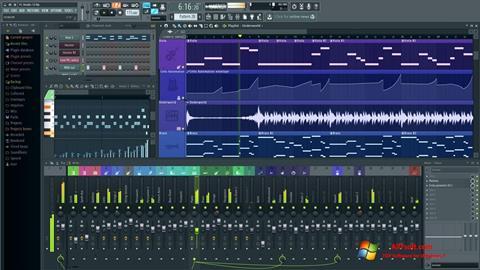 Skærmbillede FL Studio Windows 7