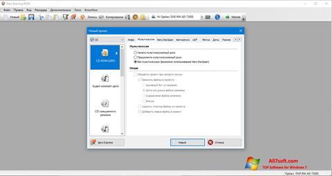 Skærmbillede Nero Windows 7