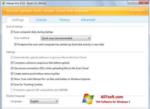 Skærmbillede HitmanPro Windows 7