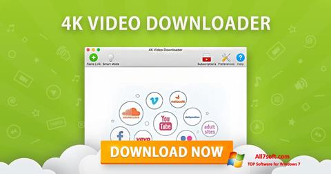 Skærmbillede 4K Video Downloader Windows 7