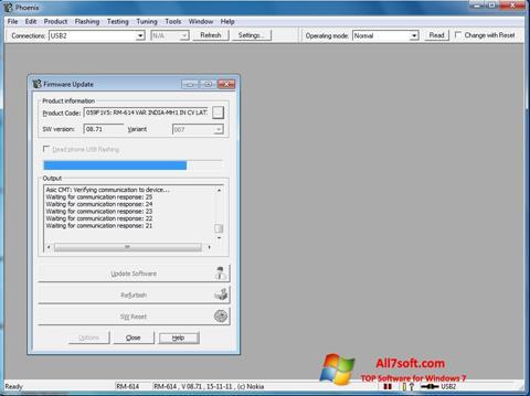 Skærmbillede Phoenix Windows 7