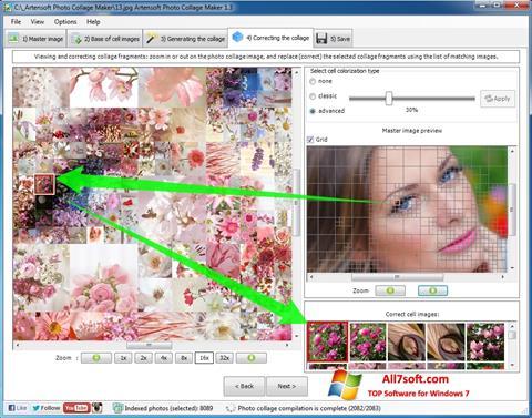 Skærmbillede Photo Collage Windows 7