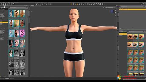 Skærmbillede DAZ Studio Windows 7