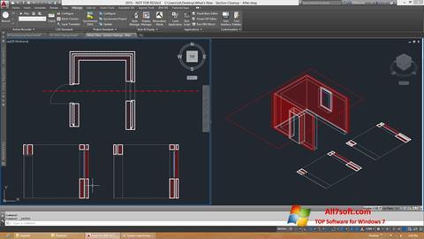 Skærmbillede AutoCAD Architecture Windows 7