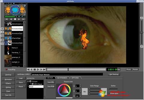 Skærmbillede JahShaka Windows 7