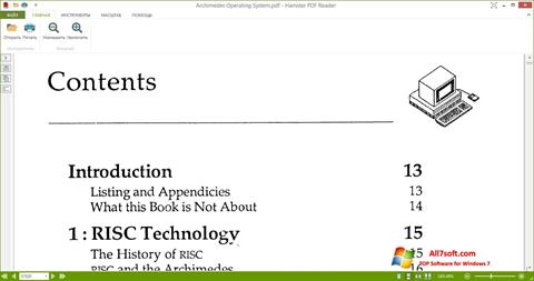 Skærmbillede Hamster PDF Reader Windows 7