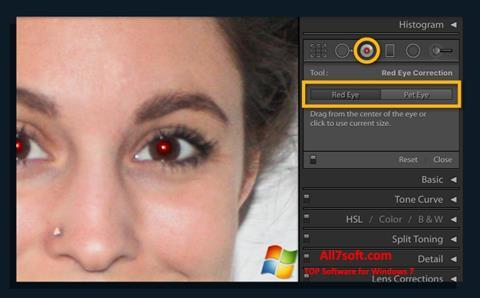 Skærmbillede Red Eye Remover Windows 7