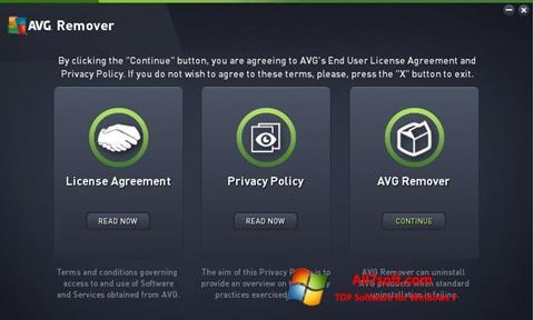 Skærmbillede AVG Remover Windows 7