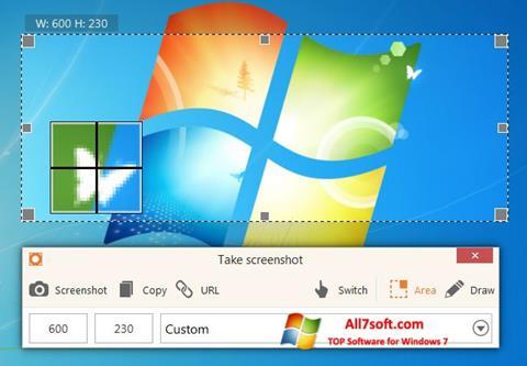 Skærmbillede ScreenShot Windows 7