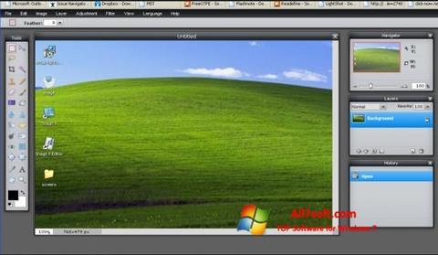 Skærmbillede LightShot Windows 7