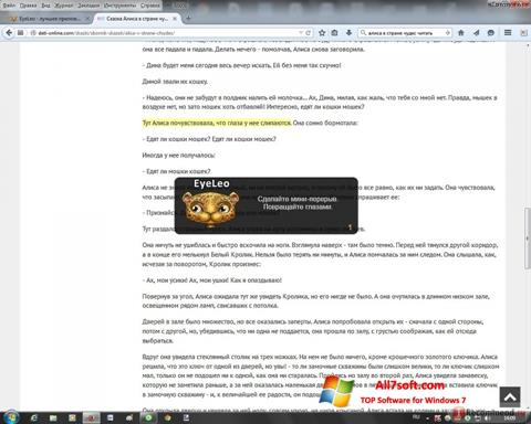 Skærmbillede EyeLeo Windows 7