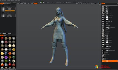 Skærmbillede 3D-Coat Windows 7