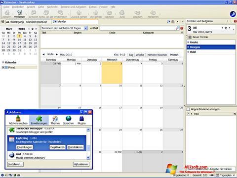 Skærmbillede SeaMonkey Windows 7