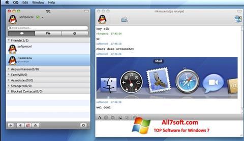 Skærmbillede QQ International Windows 7