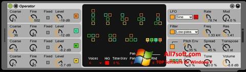 Skærmbillede OperaTor Windows 7