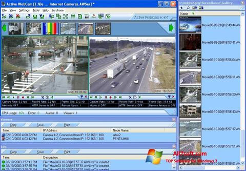 Skærmbillede Active WebCam Windows 7
