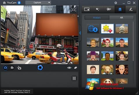 Skærmbillede CyberLink YouCam Windows 7